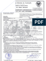 Certificado de Parametros Urbanisticos - Carabayllo