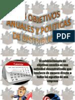 5.3 Obbjetivos Anuales y Politicas Sde Dsitribucion