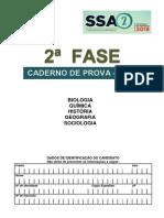 Caderno de Provas do Vestibular SSA 2 - 2º DIA