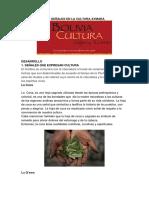 Las Señales en La Cultura Aymara