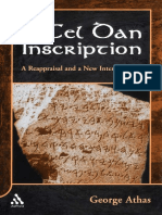 George Athas-The Tel Dan Inscription_ a Reappraisal and a New Interpretation (Journal for the Study of the Old Testment Supplement) (2006)