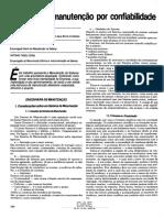 Sistema de Manutenção por Confiabilidade - Revista DAE
