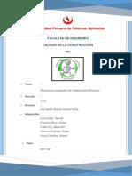 FLUJOGRAMA INSTALACIONES ELECTRICAS