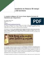 Feminismo Comunitario en Oaxaca
