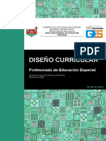 Documento Curricular Ed Especial