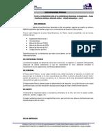 ESPECIFICACIONES TECNICAS DE OBRA