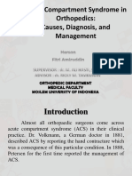 Acute Compartment Syndrome Journal