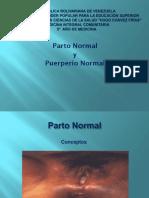 Parto Normal y Puerperio - Copia