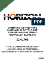 Horizon 32HL705 User Manual