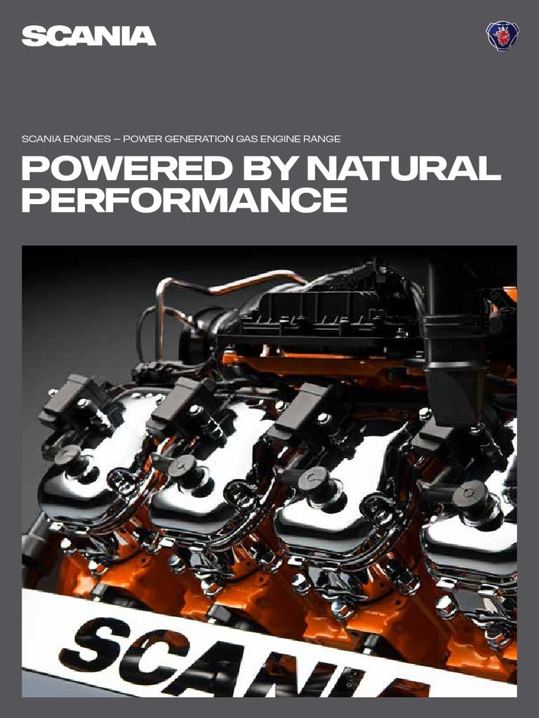 Scania Power Generation Gas Engine Range Brochure | Natural Gas