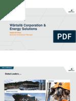 Wartsila - Corporate Presentation 2017 - Iran