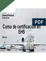 Curso de Certificación en EHS 2016 Mexico