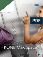 Download Kone Maxispace