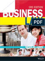 页面提取自-Business Law, 3rd Edition - Nickolas James