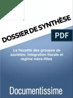 La Fiscalite Des Groupes de Societes Integration Fiscale Et Regime Mere Filles 134