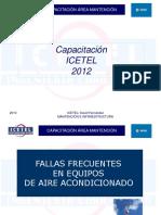 16.- Presentacion Fallas Frecuentes Equipos Aire Acondicionado.