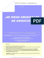 40 Ideas Origin Ales de Negocio