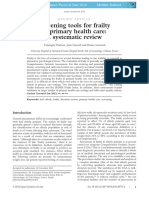 Screening Tools Frailty Primary Care