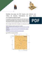 Medidas Das Peças Da CNC 2.0 - Professor Marlon Nardi