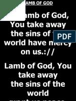 LAMB OF GOD.ppt