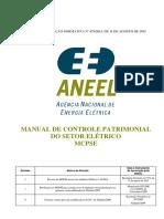 Manual de Controle Patrimonial Do Setor Elétrico - Mcpse
