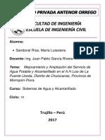 Informe Aguas