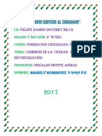 Comision de La Verdad y La Reconciliacion Mayreli