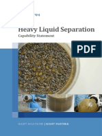Heavy Liquid Separation