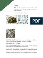 Materiales y Metodos Rutina