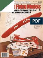 AirTrails Classic Flying Models Fall1979