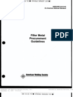 [Welding] ANSI-AWS Standard A5.01-93_ Filler Metal Procedure Guidelines (eBook, 19 Pages)