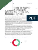 Informe #97 - Violencia de Género
