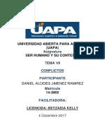 BETZAIDA KEELY  SER HUMANO Y SU CONTEXTO TEMA VII LOS CONFLITOS.docx