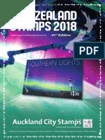 ACS NZ Stamp Catalogue 2018