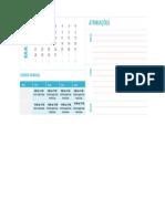 Calendario Matricula 2016 1