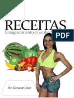 Mini-livro Receitas Para Aumento de Massa Muscular