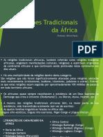 Religiões Tradicionais Da África