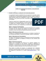 Pasos Basicos Para Realizar Una Exportación de Servicios y Documentacion