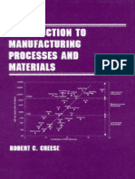 Preview of Introduction to Manufacturing Processes and Materials Manufacturing Engineering and Materials Processing