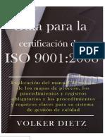 Guia Para La Certificacion de Iso 9001