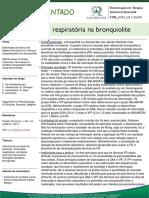1 Fisioterapia Respiratória Na Bronquiolite