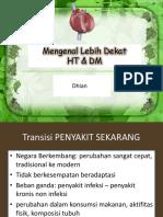 Penyuluhan HT DM
