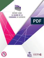 Informe Sobre La Calidad de La Ciudadania en Guerrero Final Con Portada