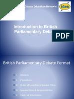 Introduction to Bp Debate