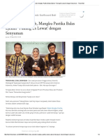 27. Demi Bisa Sekolah, Mangku Pastika Balas Ejekan 'Tukang Es Lewat' Dengan Senyuman - Tribun Bali