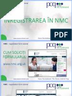 Tutorial Inregistrare Nmc