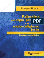 HOUTART FRANCOIS Palestina Del Siglo Primero