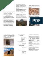 Arquitectura Inca Triptico