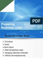 Secretaryship Letter
