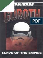 WEG40098 - Star Wars D6 - Goroth Slave of the Empire